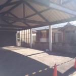 屋根付駐車スペース